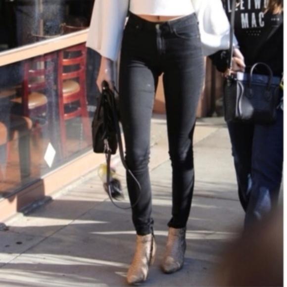 Rich /& Skinny Womens Marilyn Skinny Jeans Tar Black
